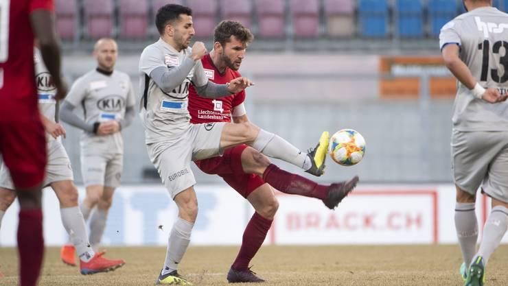 Die Erfolgsserie des FC Aarau ist gerissen.