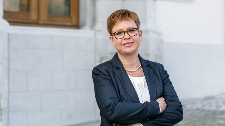Die Grüne Badener Stadträtin Ruth Müri kandidiert für den Aargauer Ständerat.