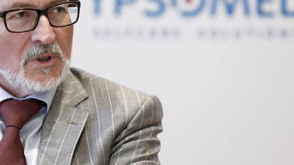 Ärgert sich über Frankenstärke und Nationalbank: Willy Michel, Verwaltungsratspräsident und Chef von Ypsomed. (Archivbild)