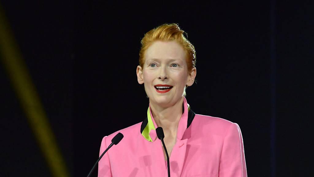 Die schottische Schauspielerin und Oscar-Preisträgerin Tilda Swinton beschwört an der Eröffnung des Internationalen Filmfestivals in Marrakesch den «Zauber des Kinos».