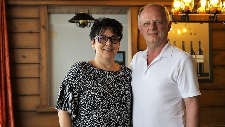 Radica und Borislav Cembic führen seit 22 Jahren das Restaurant Eintracht in Wolfwil.