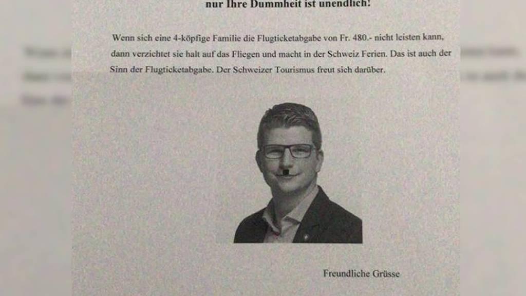 Flucht nach vorne: St.Galler Nationalrat erhält Drohbrief