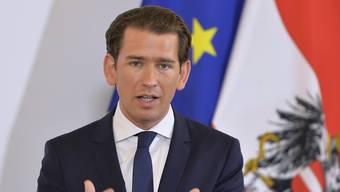 Steht Österreichs Bundeskanzler Sebastian Kurz das Aus bevor? Das österreichische Parlament wird am kommenden Montag über einen Misstrauensantrag der Opposition gegen ihn abstimmen.