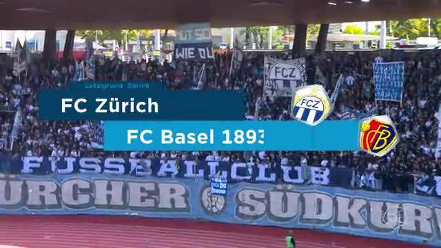 Super League, 2018/19, 5. Runde, FC Zürich – FC Basel, Highlights