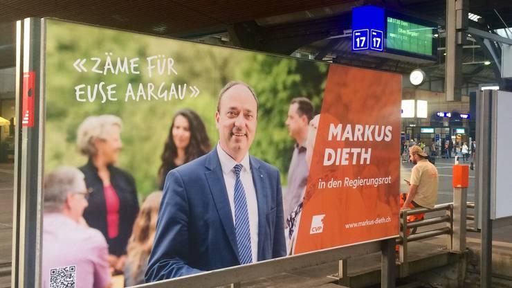 Markus Dieth: «Wir dürfen uns als Aargauer ruhig auch in Zürich zeigen.»