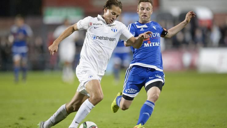 Alain Schultz würde gerne noch eine Saison in der Challenge League spielen.