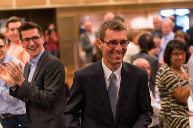 Lukas Pfisterer wurde zum neuen FDP Parteipräsident Aargau gewählt.