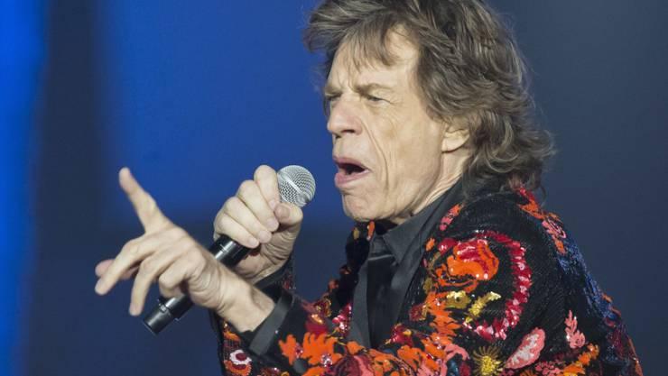 """Mick Jagger ist erfolgreich am Herzen operiert worden. """"Ich fühle mich jetzt viel besser"""", erklärte er am Freitag. (Archivbild)"""