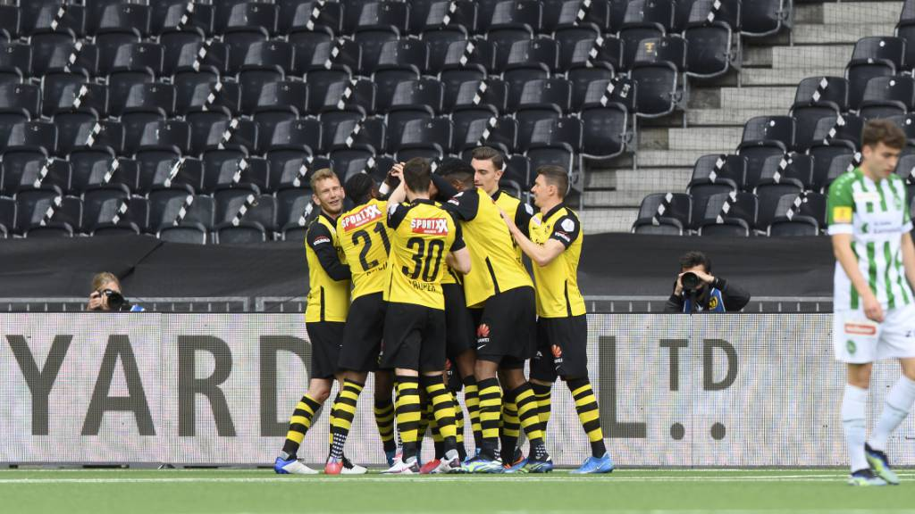 YB fehlt noch ein Sieg - Sions kapitale Niederlage in Vaduz