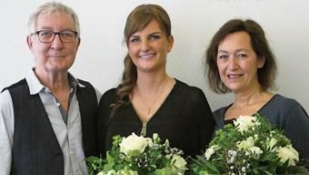 Ueli und Annamarie Friedli (rechts) übergeben ihren Salon an Mirjam Hunziker.Ina Wiedenmann