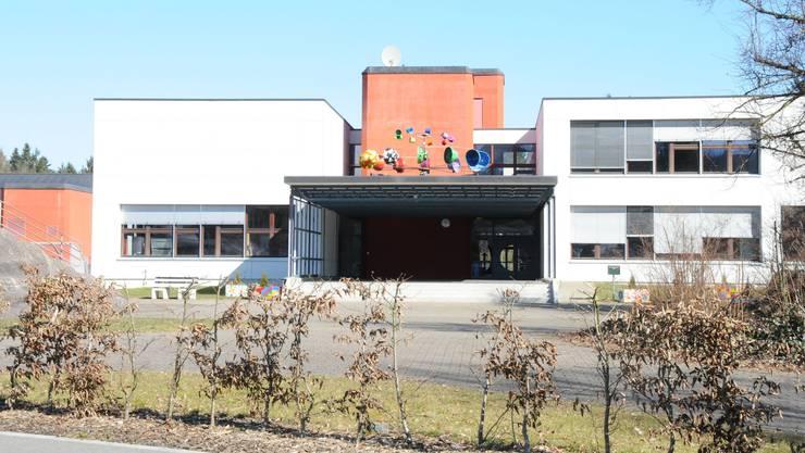 Die Bezirksschule in Leuggern.