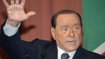 Will er gar selber Präsident werden? Silvio Berlusconi. (Archiv)
