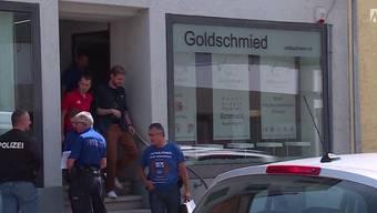 Am helllichten Tag hat ein Räuber in Olten die Bijouterie von Urs Kaufmann überfallen. Schon im Jahr 2010 wurde der Goldschmied Opfer eines Überfalls.