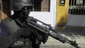 Mitglied einer Sondereinheit der mexikanischen Bundespolizei im Staat Sinaloa (Archiv)