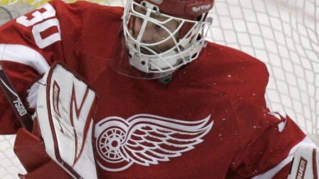 Detroit-Goalie Chris Osgood