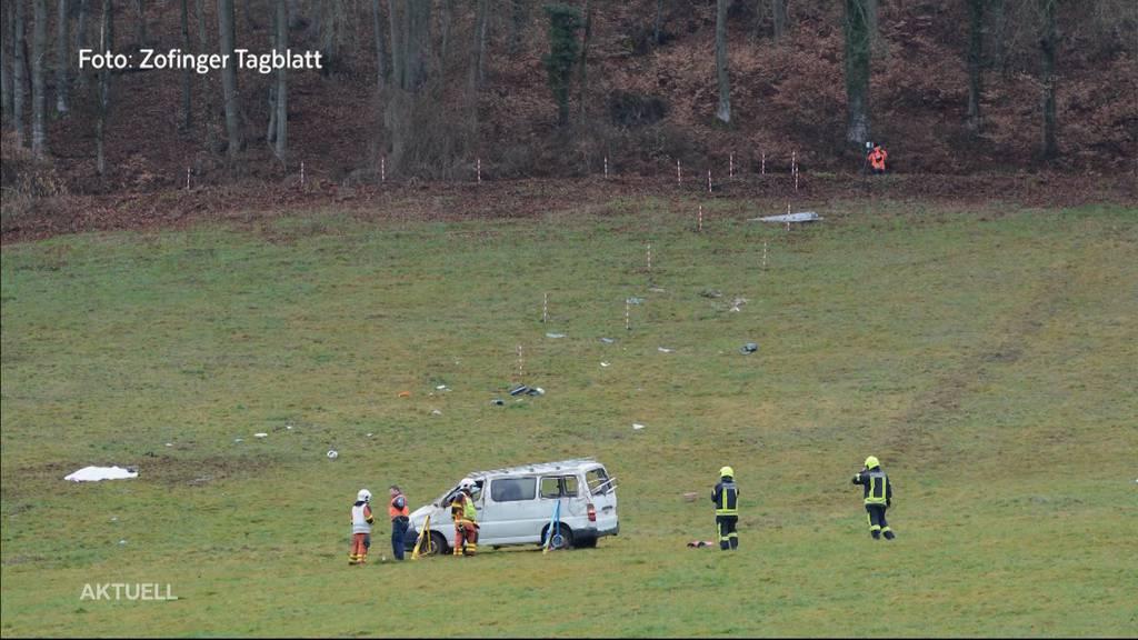 66-Jähriger stirbt nach Unfall mit Lieferwagen in Reiden
