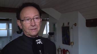 Brand in Bremgarter Altstadt: Diakon Ueli Hess erzählt, wie er aus dem Haus rannte.