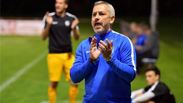 Emilio Munera würde die Herausforderung in der 2. Liga inter mit dem FC Lenzburg gerne annehmen.