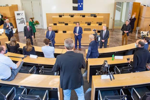 Der neue Regierungsrat bleibt ein reines Männergremium.