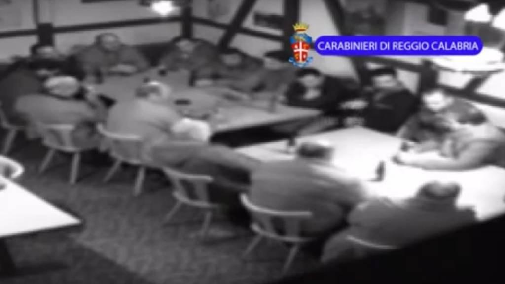 Die italienische Polizei filmte die Mafia bei einem Treffen im Thurgau.