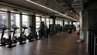 Im Fitnessstudio The Gym im Lupfiger Industriequartier sind Ausdauer- und Kraftgeräte der neusten Generation zu finden.