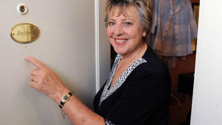 """Die Schauspielerin Marie-Luise Marjan alias Mutter Beimer will auch nach über 30 Jahren nicht aus der """"Lindenstrasse"""" hinausgeschrieben werden. (Archivbild)"""