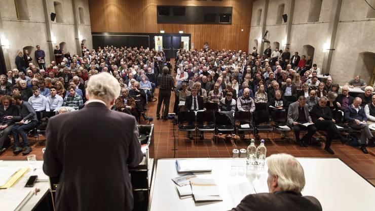Gemeindeversammlung der Stadt Solothurn