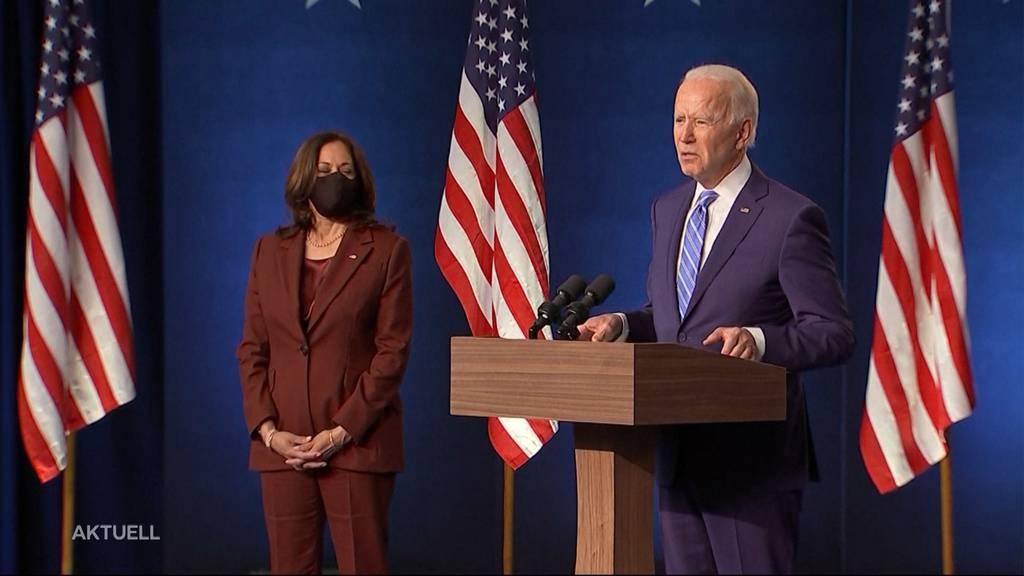 Joe Biden oder Donald Trump: Knappes Rennen bei den US-Wahlen