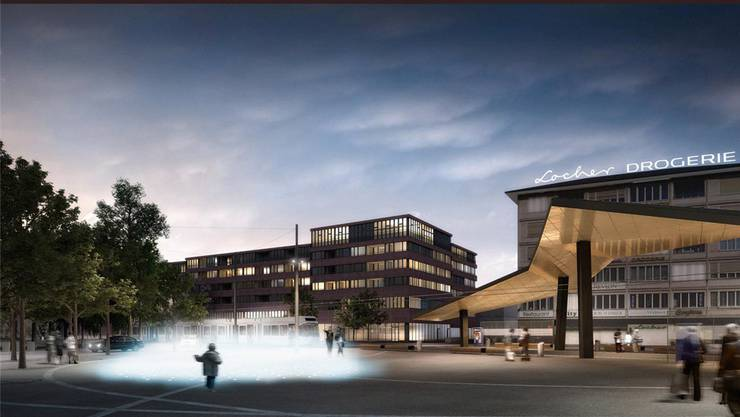 Der geplante Stadtplatz Schlieren