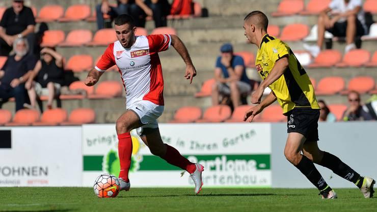 Der FC Solothurn muss gegen die zweite Mannschaft des FC Thun eine starke Reaktion auf die letzten zwei Niederlagen zeigen.