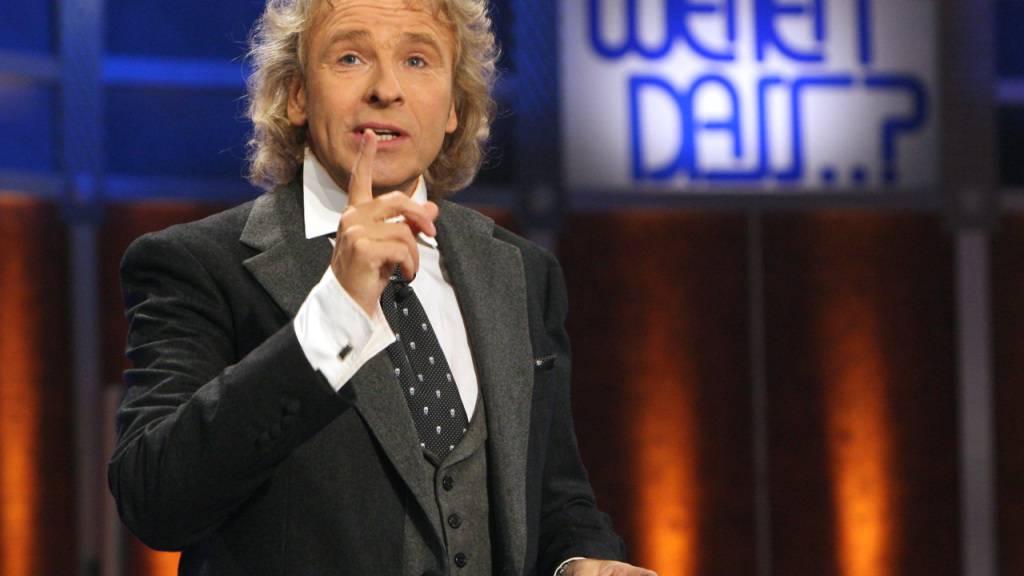 ZDF verschiebt wegen Corona-Krise «Wetten, dass..?»-Sonderausgabe