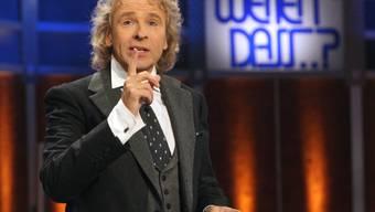 """Das ZDF hat aufgrund der Coronavirus-Krise eine Sondersendung von """"Wetten, dass..?) mit dem Entertainer Thomas Gottschalk auf kommendes Jahr verschoben. (Archivbild)"""