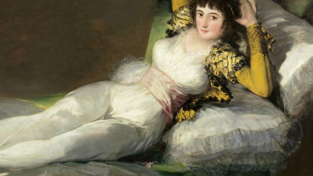 Eines von Goyas bekanntesten Werken: «Maja», hier in der Version mit Kleidern.