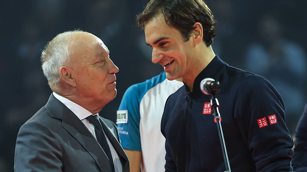 Basels Turnierdirektor Roger Brennwald setzt Titelverteidiger Roger Federer harte Konkurrenz vor