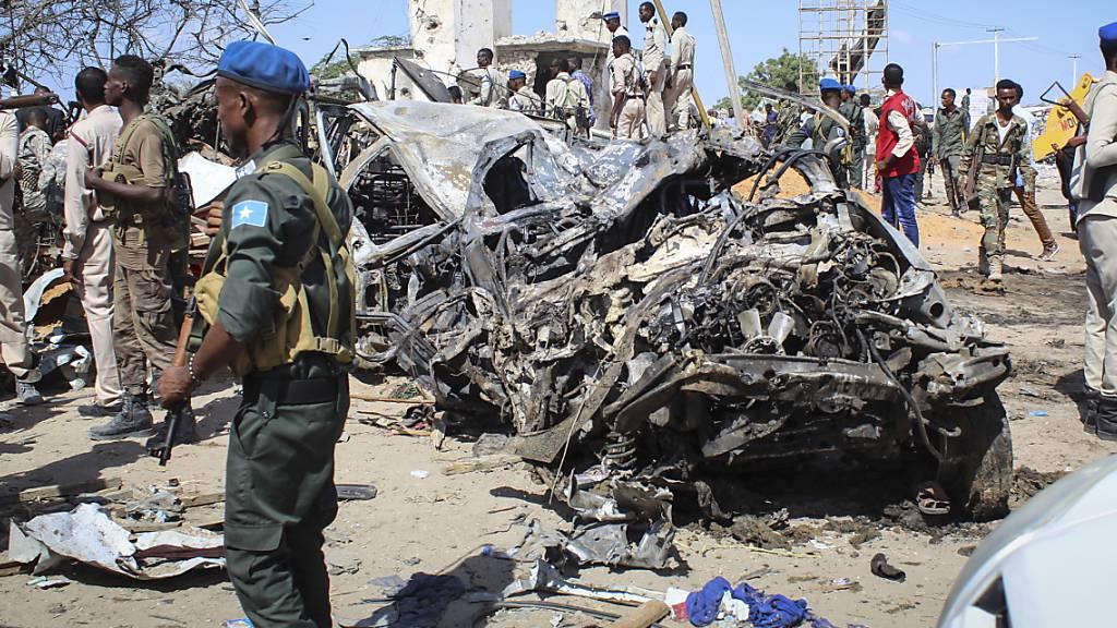 Terrormiliz Al-Shabaab bekennt sich zu Anschlag in Mogadischu