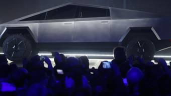 Cybertruck von Tesla wird fleissig bestellt. (Archivbild)