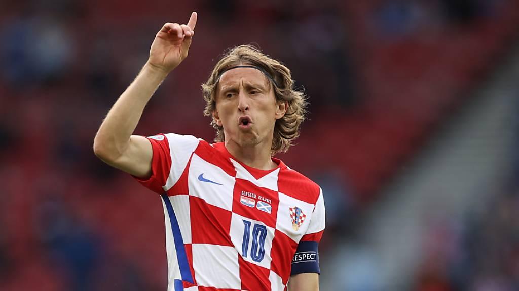 Luka Modric ist Dreh- und Angelpunkt der kroatischen Nationalmannschaft.