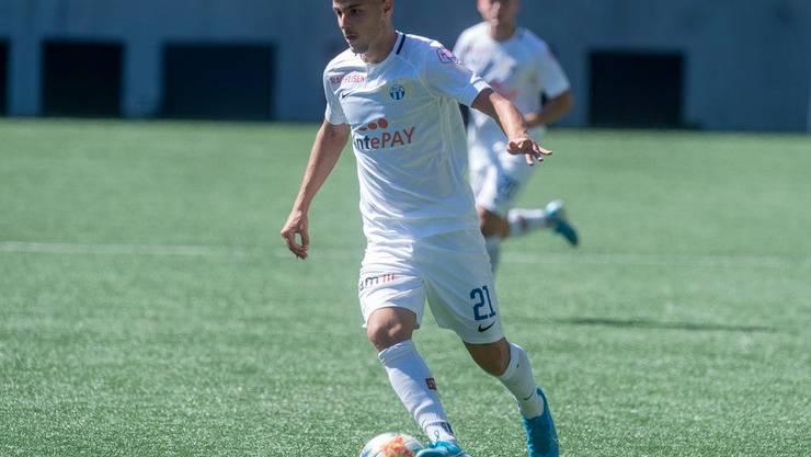 Izer Aliu, hier noch im Dress des FC Zürich.