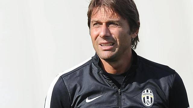 Antonio Conte Anfang Dezember wieder auf der Bank von Juve.
