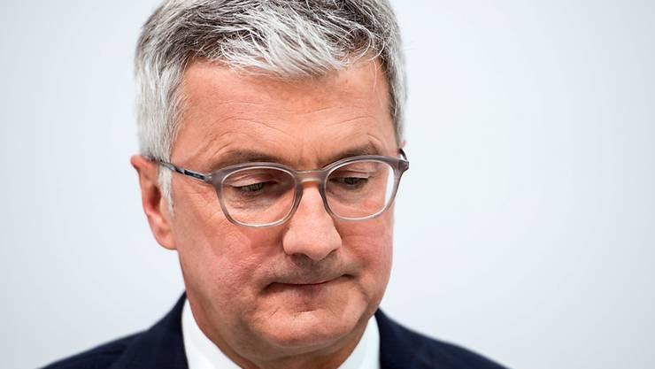Jetzt auch die oberste Führung von Audi im Visier der Behörden: Die Staatsanwaltschaft München liess im Zusammenhang mit der Dieselaffäre die Wohnungen von Audi-Chef Rupert Stadler durchsuchen. (Archiv)