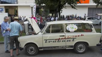 Die grösste Elektro-Auto-Rallye der Welt fuhr durch die Region