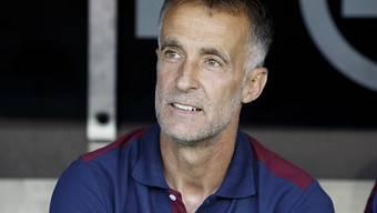 Trainer Meho Kodro wahrte mit Servette die Ungeschlagenheit in dieser Saison