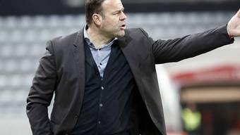 Patrick Rahmen steckt mit dem FC Aarau in der Krise (Archivbild)