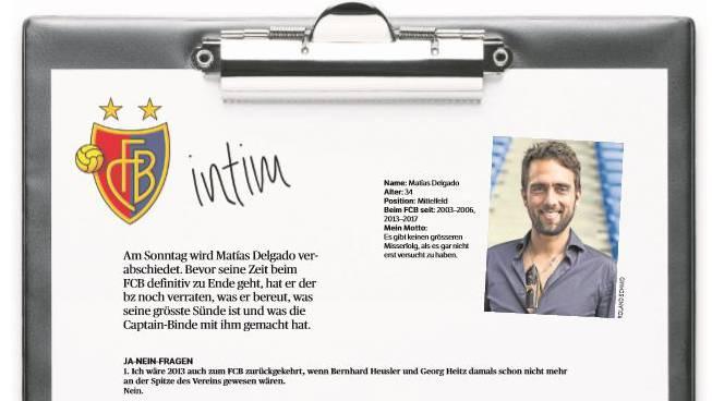 Matías Delgado beantwortet die Fragen der bz.