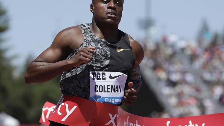 Christian Coleman wurde und wird von der Anti-Doping-Agentur (USADA) angehört