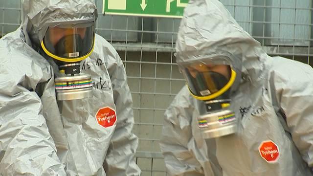 Chemieunfall: Fünf Personen im Spital