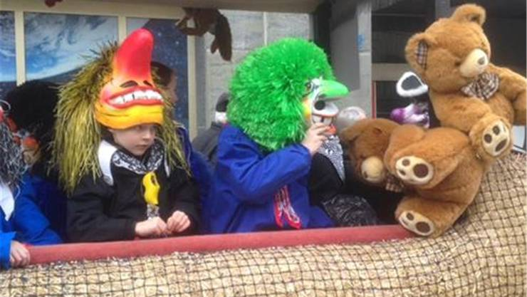 Basler Kinderfasnacht 2015