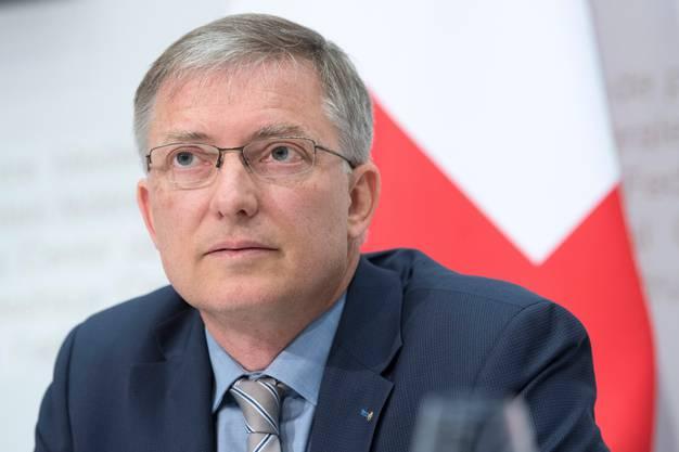 Stalinistisches System installiert? Markus Seiler, ehemaliger Geheimdienstchef, heute Generalsekretär von Bundesrat Cassis.