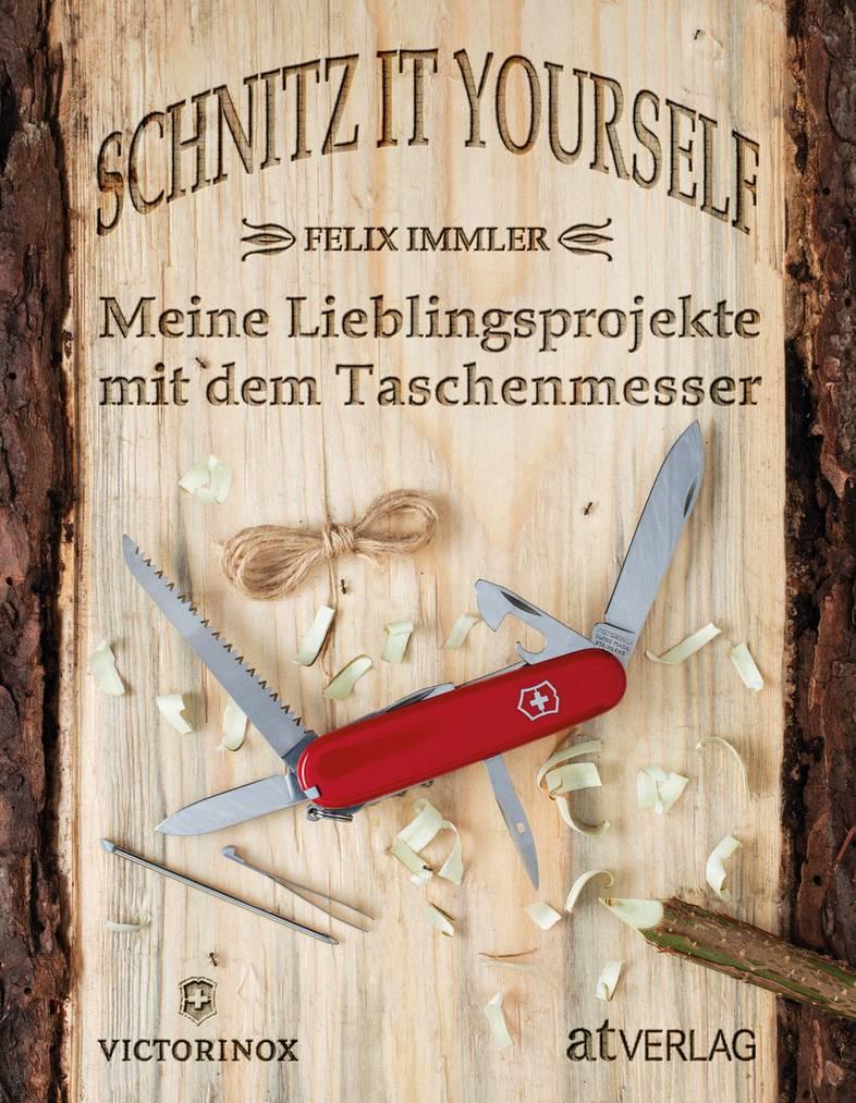 Das neue Buch vom Schnitzprofi Immler ist ab dem 1. April erhältlich. (Bild: Matthew Worden)
