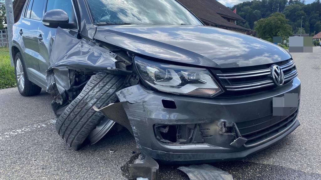 2,6 Promille, ohne Führerschein – Ungar baut Selbstunfall